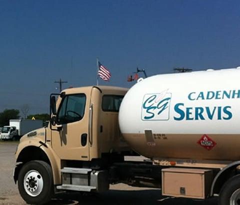 Cadenhead Servis Gas Truck