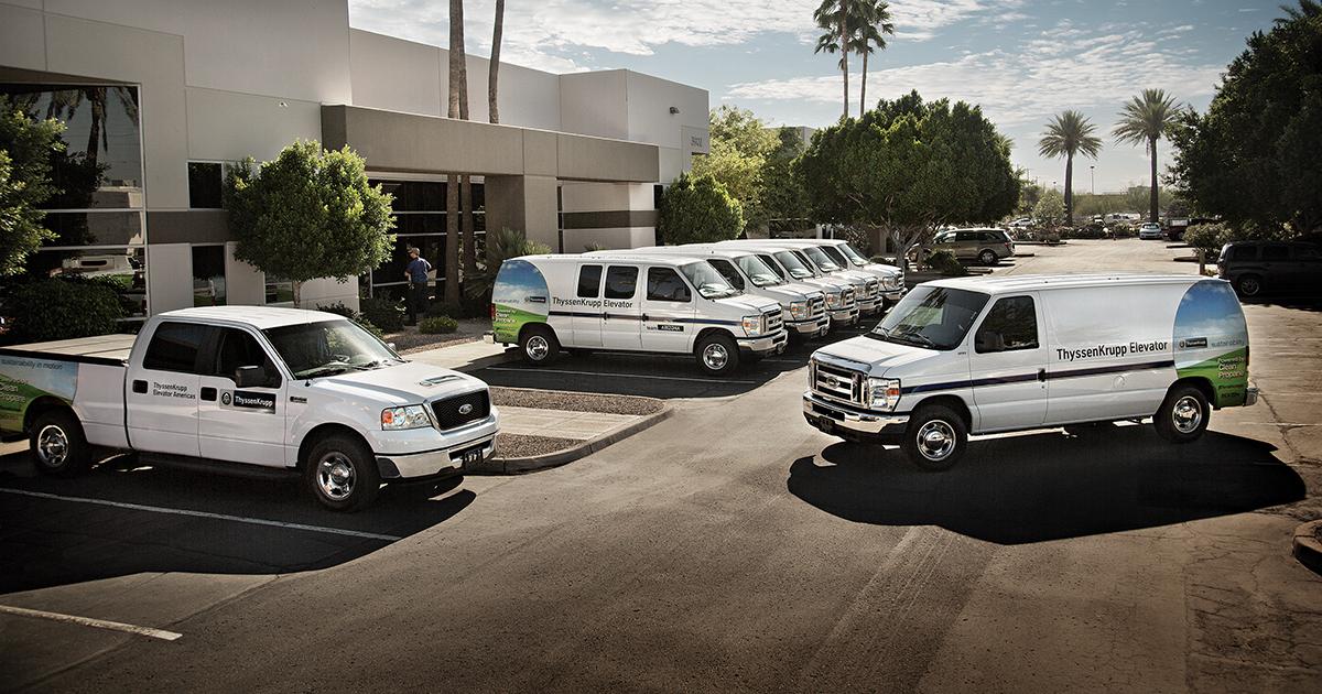 Propane Autogas Fleet Vehicles
