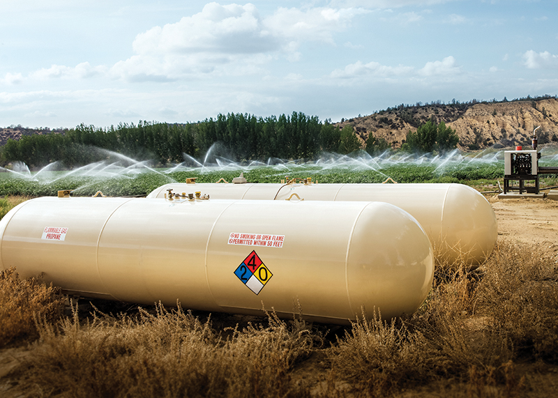 Commercial Propane Tanks in Northern Texas