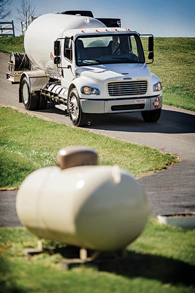 propane auto-delivery for residential customers