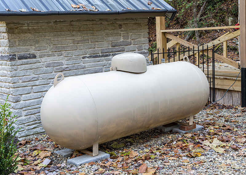 Residential Propane Tanks in Northern Texas